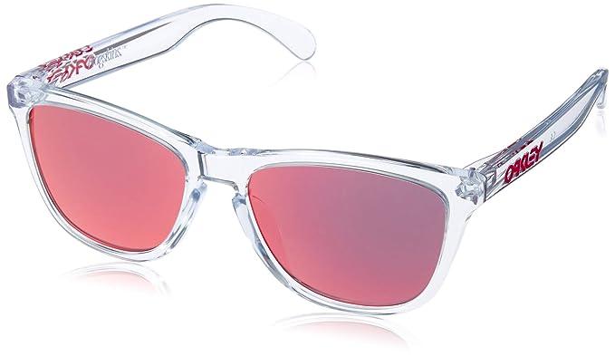 Oakley Frogskins pulido antorcha Iridium Gafas de sol claras ...