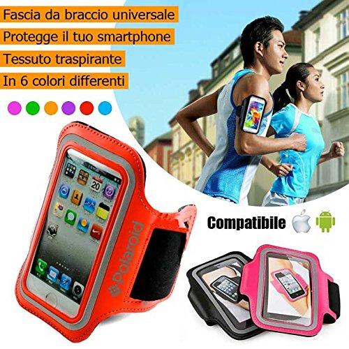 Cinta deportiva brazo Smartphone Sport Fitness Polaroid tejido ...