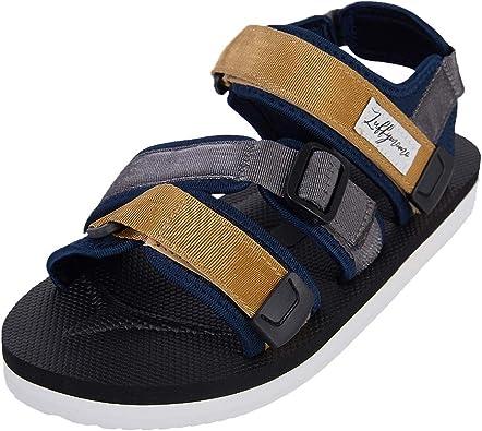 Amazon.com | LUFFYMOMO Athletic Sandals for Men Sport Adjustable Strap  Summer Sandals | Sport Sandals & Slides