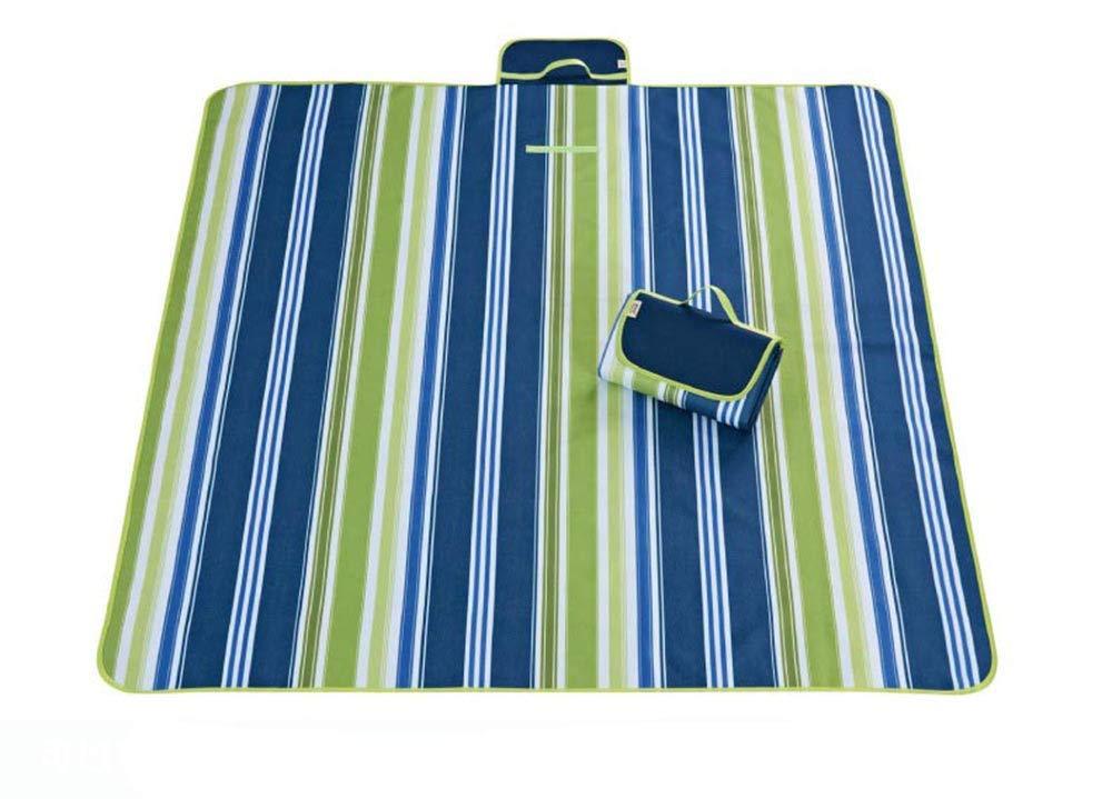 SYT SYT SYT Blankets Faltbare Outdoor-Camping-Matte Widen Picknick-Matte Plaid Beach Decke Baby Multiplayer Tourist Matte, 145x180CM, Blau B07GBTHV9W   Neues Produkt  e94895