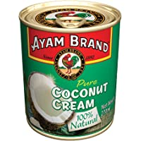 Ayam Brand Coconut Cream | 100% Natural | High Quality | Halal & Healthier Choice | Full of Flavour | 100% Fresh Ripe…
