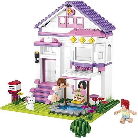 Grandes Juegos blokki Girl s Dream Villa con Piscina 291 Unidades ...