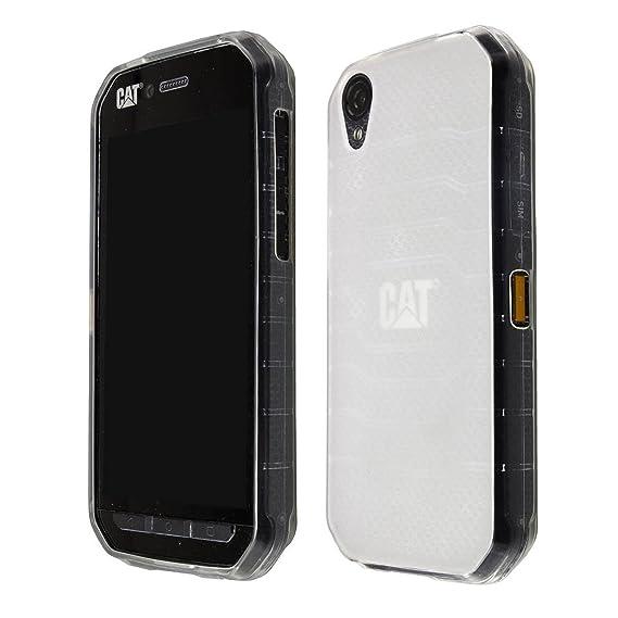 official photos 0b1de 03a1d caseroxx Smartphone Case CAT S41 TPU-Case - Shock Absorption, Bumper Case  (Clear, TPU)