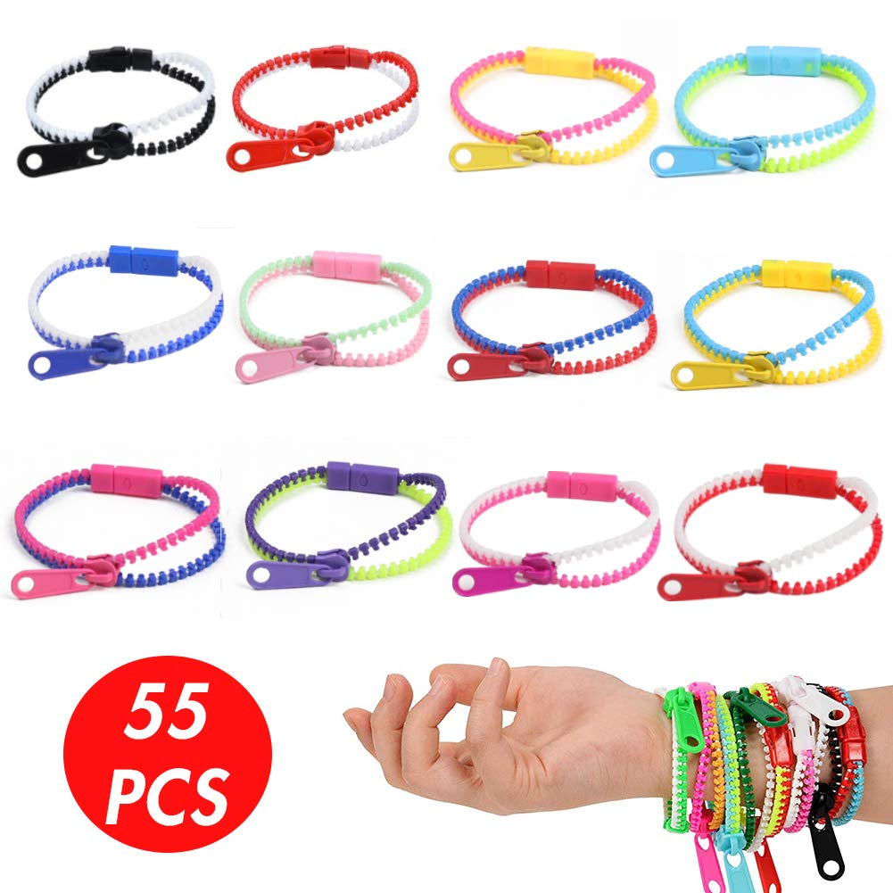 Large set of bracelets for favors and rewards