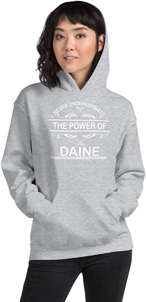 Never Underestimate The Power of Daine PF