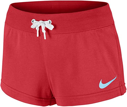 NIKE Pantalones Cortos DE Mujer Club Short Large Swoosh (Talla-L)