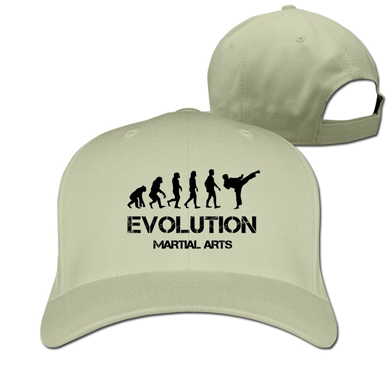 Evolution Martial Arts Hat Unisex-Adult Hip-Pop Baseball Cap