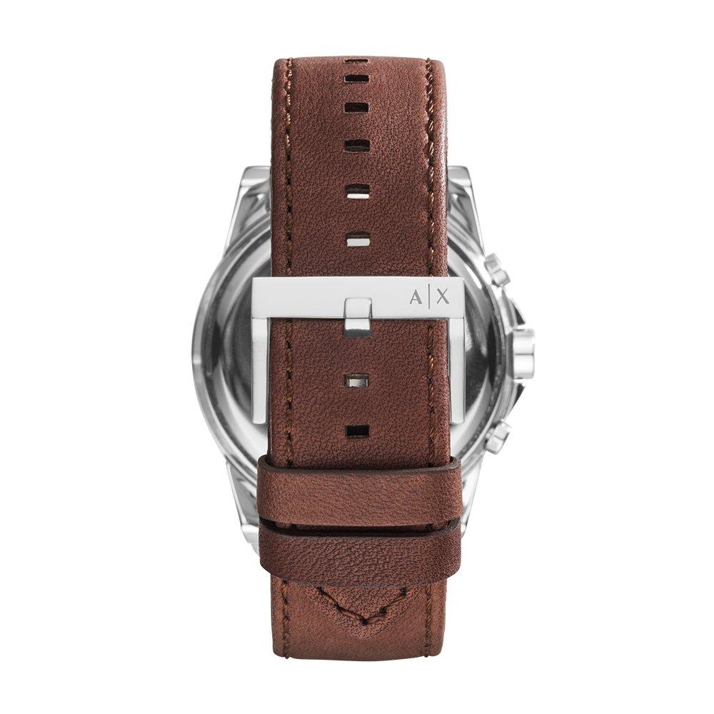 Amazon.com  Armani Exchange Men s AX2501 Brown Leather Watch  Armani  Exchange  Watches 5202c06eaf350