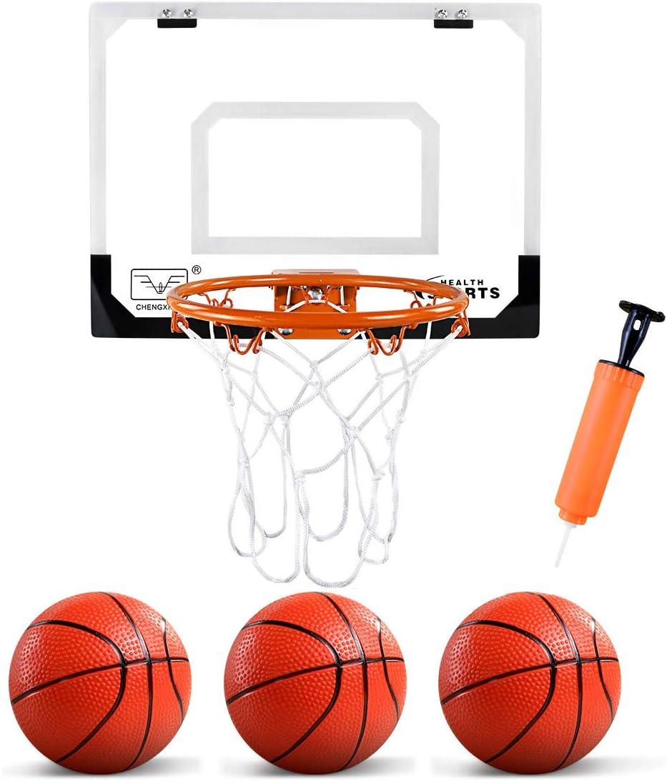 Zerodis Mini m/áquina de Baloncesto Doble Mesa Juguetes de Baloncesto Juego de Tiro de Baloncesto de Escritorio Mini Dedo Juguete de Baloncesto Cumplea/ños Regalo de para ni/ños Adultos UNA