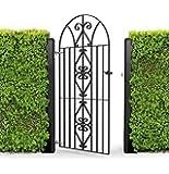 Ferro battuto, stile Windsor, in metallo, a forma di fiocco, 1890 x 815 mm da giardino completo con tutti gli accessori