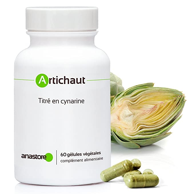 ALCACHOFA * 400 mg / 60 cápsulas * hígado, molestias ...