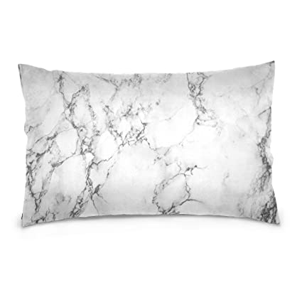 pillow case texture. ALAZA White Marble Texture Floor Cotton Lint Pillow Case,Throw Case  Protector Cushion Cover Pillow Case Texture