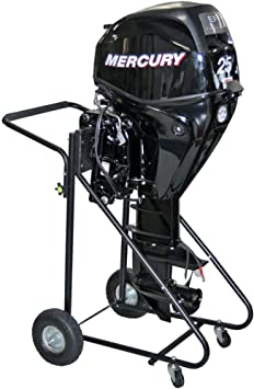 Rage Powersports Outboard Motor Cart Engine Stand with Folding Handle