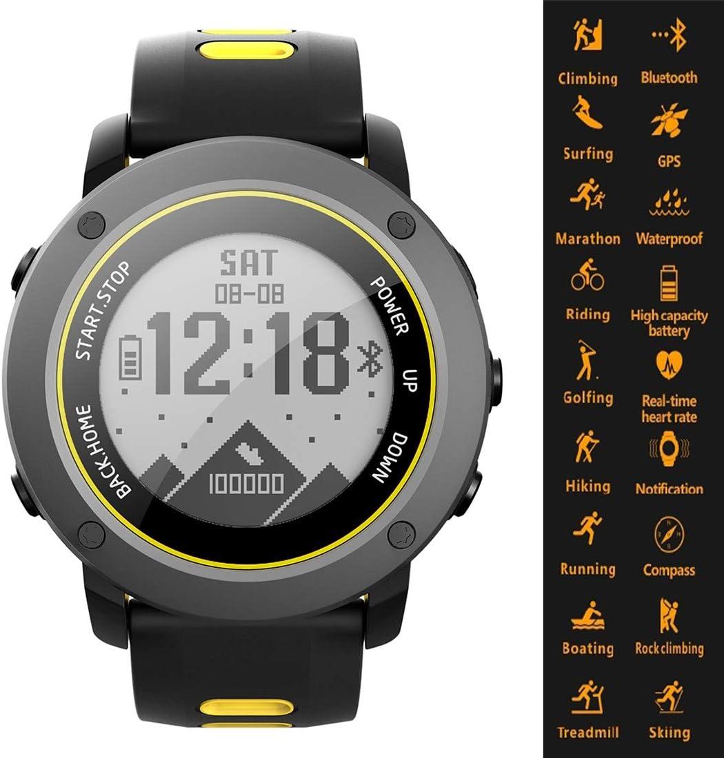 Digitale orologio sportivo intelligente bluetooth impermeabile