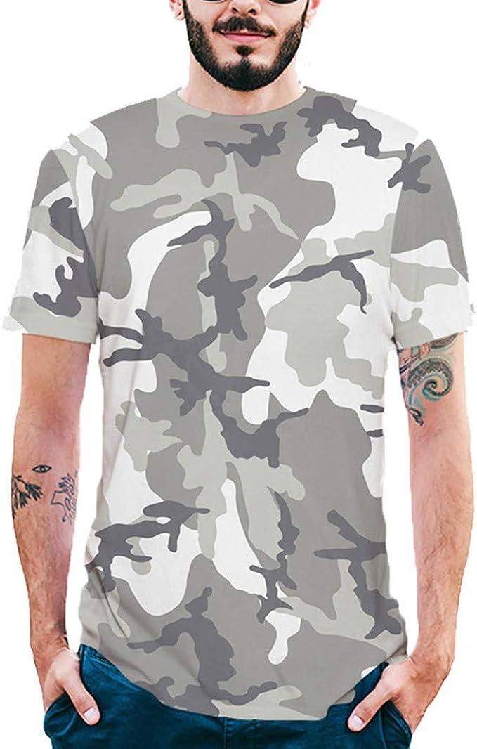 SamMoSon 2019 Camiseta y Polos Basica, Hombres Camiseta ...