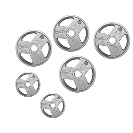 Heavy-duty, Smooth and Hammertone-coated Weight Plate Set (50) Amazon.com :