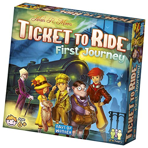 Ticket to Ride: First Journey (Digital 4 Piece Tv)