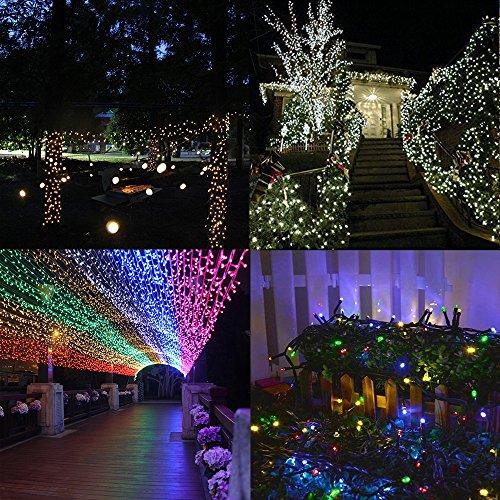 Solar String Lights Outdoor, Addlon Led Christmas Lights