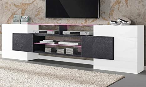 Madia Porta Tv Design.Porta Tv Design Vetro