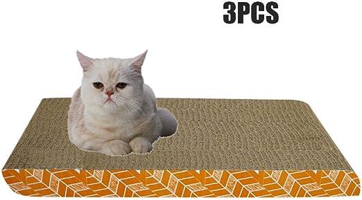 UTOPIAY - Rascador de cartón para Gatos, rascador para Gatos ...