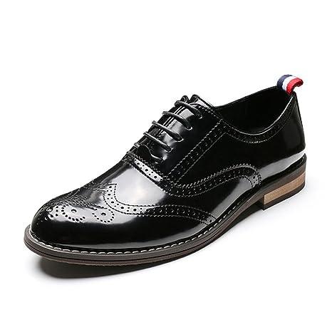 Yra Herren Sommer Schwarz Freizeitschuhe Herren Business Bullock Carved  Runde Stirnband Hochzeit Schuhe  Amazon.de  Bekleidung 47c78ec870
