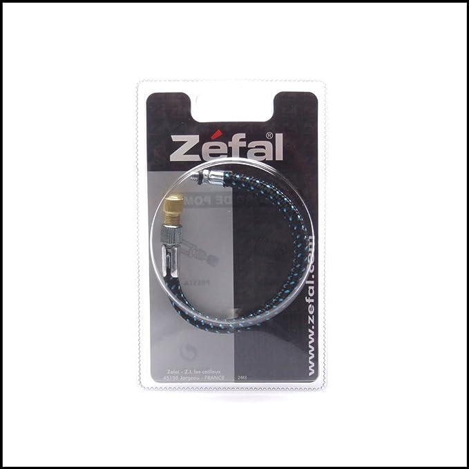 Zefal manguera AV 20 cm con SV adaptador negro para bicicleta ...