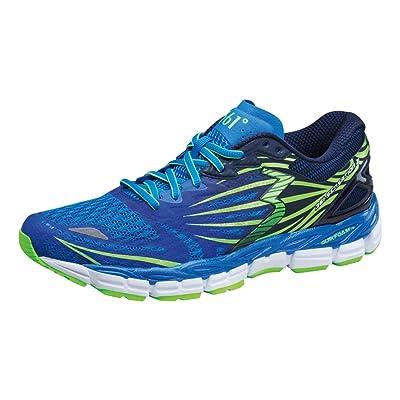 361° Men's Sensation 2 Running Shoe (12.0, Sapphire/Gecko)