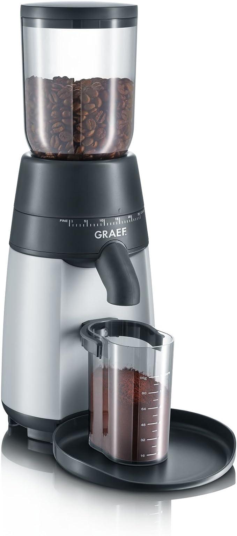 Graef CM 70 - Molino de café eléctrico con cuchilla, color negro y gris: Amazon.es: Hogar