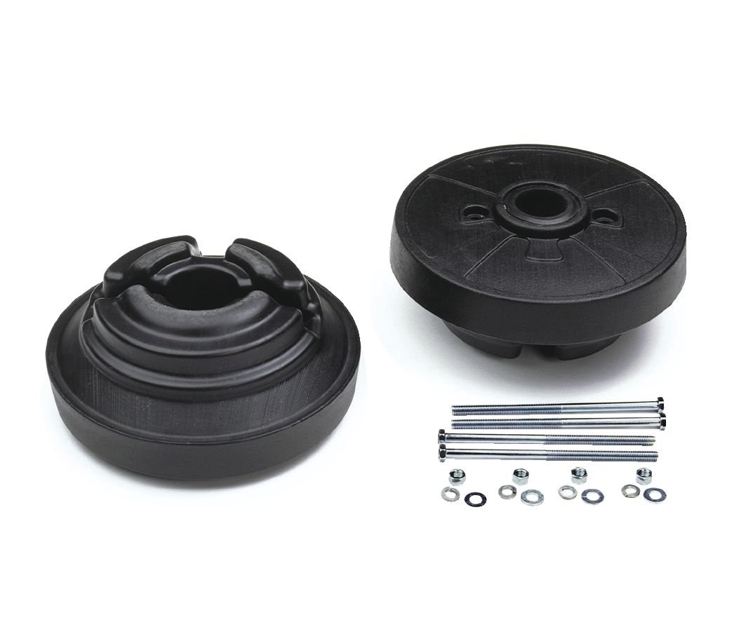 Husqvarna 954050501 Tractor Wheel Weights, Pair 62-Pound Total Weight