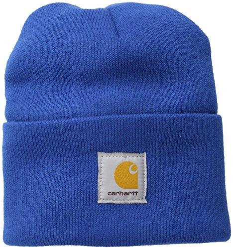 Carhartt Winter Knit Hat (Carhartt Men's Acrylic Watch Hat,Cobalt Blue,One Size)