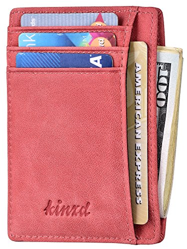 Slim Wallet RFID Front Pocket Wallet Minimalist Secure Thin