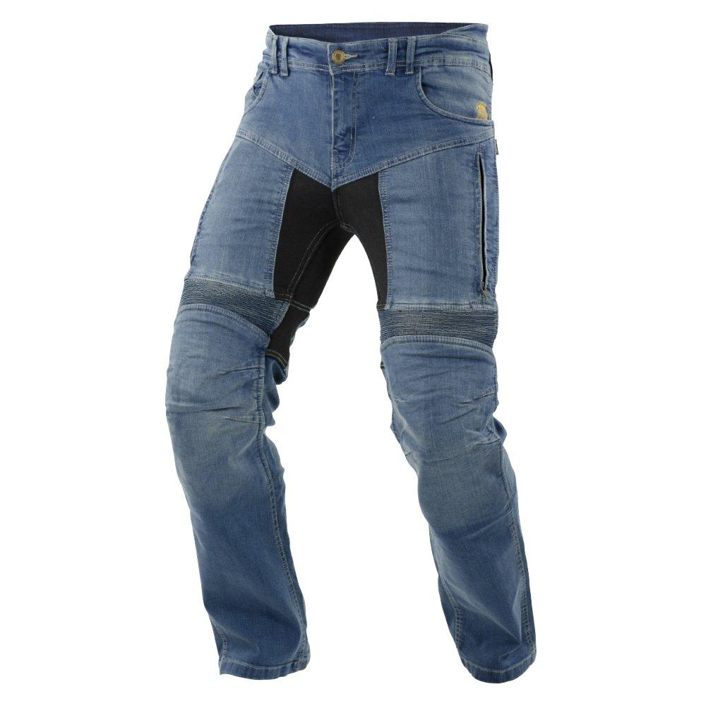 Noir taille 46/Long Trilobite Moto Homme Jeans