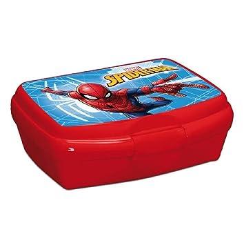 Minions Patrol AlmuerzoRecipiente Con Tapa Garra Spiderman Caja uK1cJlF53T