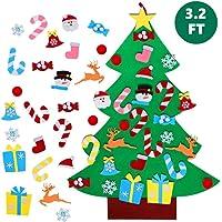 TATAFUN Árbol de Navidad del Fieltro de los
