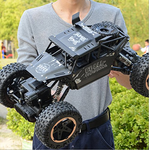 SOWOFA RC sport utility vehicle Boy super alloy remote-controlled off-road vehicle four-wheel drive rechargeable high-speed climbing big feet racing children's toy car