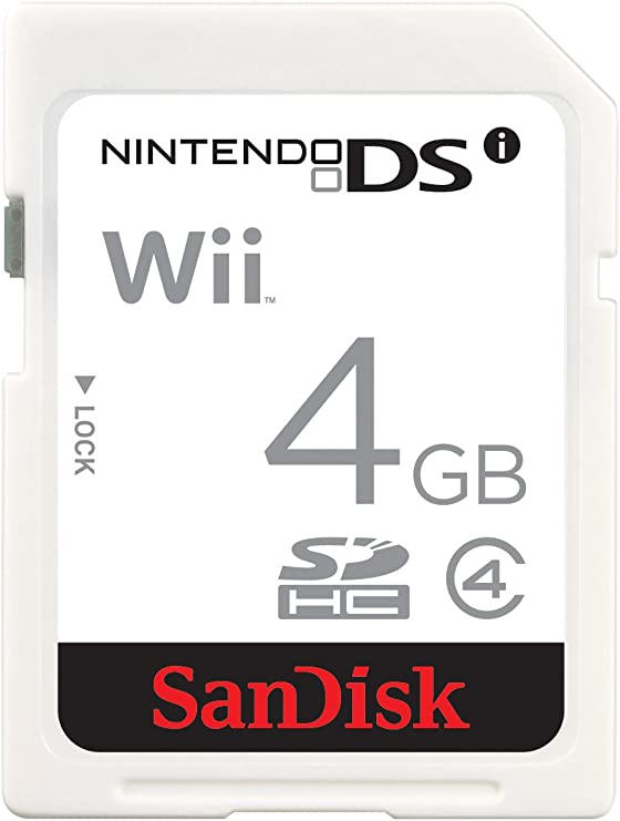 SanDisk SDSDG-004G-B46 4 GB Class 2 SD Gaming Card for Nintendo ...