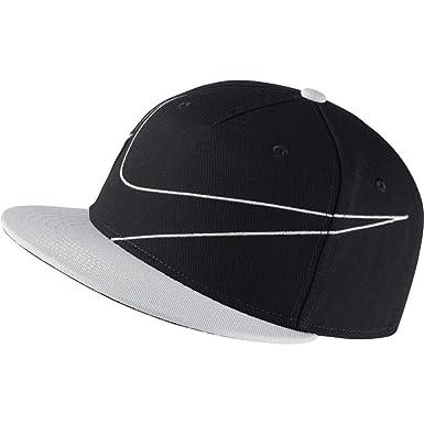 Nike Y NSW True Cap Big Swoosh Gorra de Tenis, niños, Negro Black ...