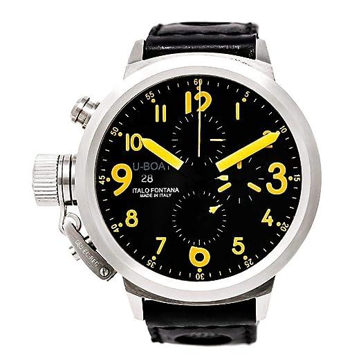 U-Boat Flightdeck automatic-self-wind Mens Reloj 7750/50 (Certificado) de segunda mano: U-Boat: Amazon.es: Relojes