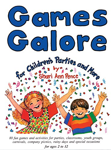 Amazon Com Games Galore For Children S Parties And More 80 Fun