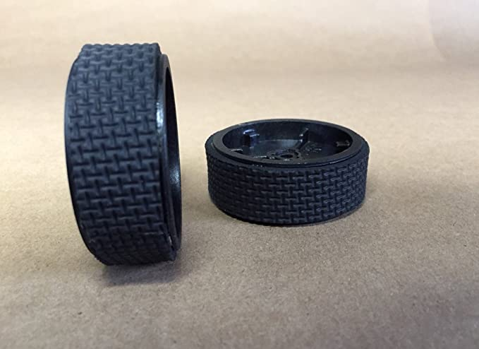 2 Free P/&P iRobot Roomba: Two Replacement Wheel Tyre Treads UK handmade