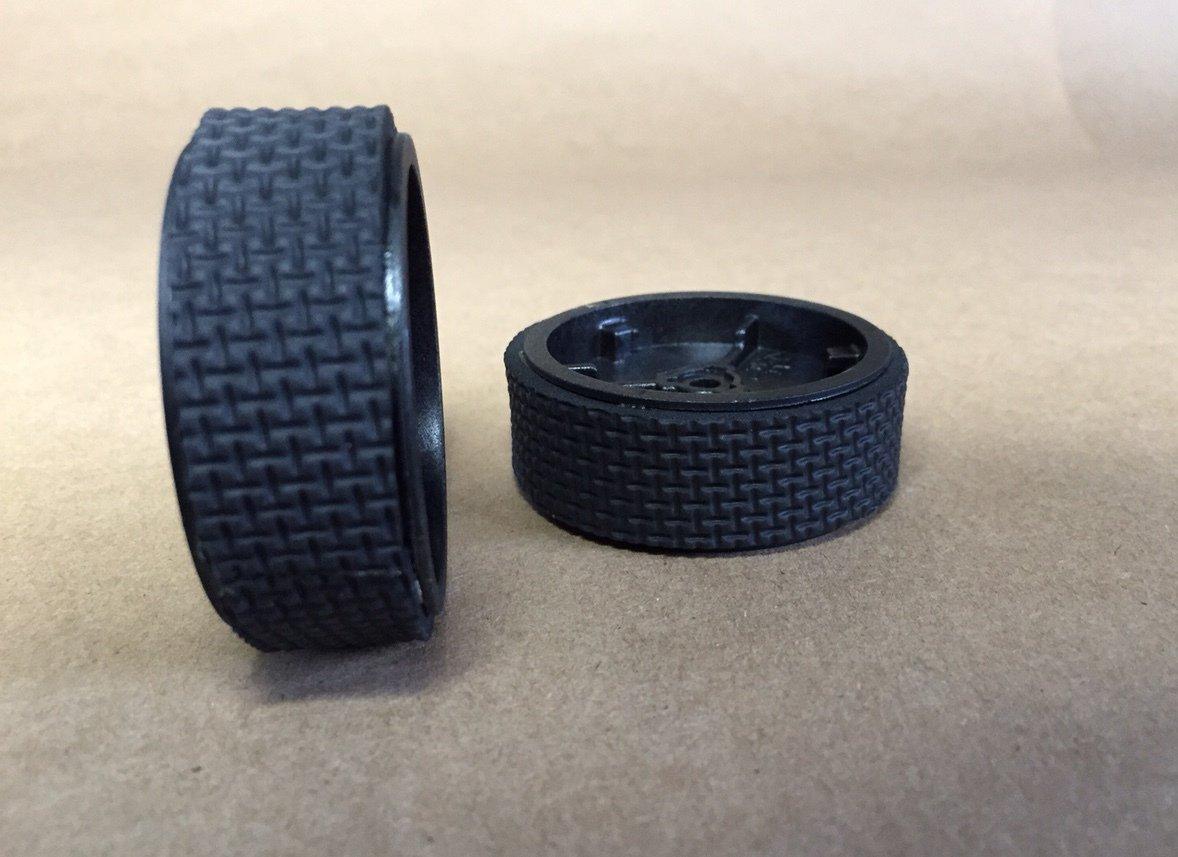 Tire tread 2 pairs Mint Plus 5200C 4200 iRobot Braava 380t 320 etc