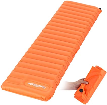 Utralight Outdoor Camping Mat TPU Inflatable Air Mattress Portable Tent Air Bed