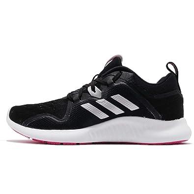 brand new 9b50f b8757 adidas Women's Edgebounce W, CORE Black/Silver Metallic/Shock Pink
