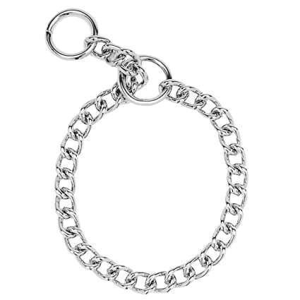 Amazon Com Herm Sprenger Chrome Plated Chain Choke Training Dog
