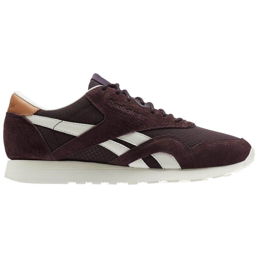 Reebok Schuhe – CL Nylon P lilat Creme Weiß