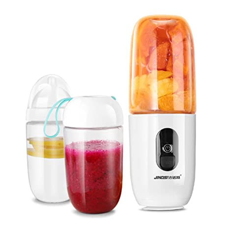Botella De Exprimidor Eléctrico USB Con Tapa De Chupete - Mezclador De Hielo De Frutas Automático