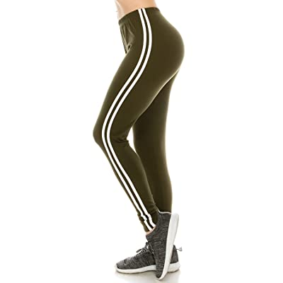 Fashionazzle Women's Ultra Soft Brushed Best Colors Solid Leggings
