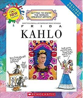 Qian Mei Frida Kahlo - Playera de Manga Corta para Mujer (Cuello ... c12b5b5bd4b09