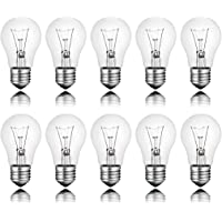 10 x gloeilamp standaard E27 25W 25 Watt helder 230 V lamp