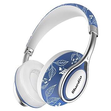 Bluedio A2 - Auriculares inalámbricos Bluetooth con micrófono integrado para teléfono móvil (porcelana azul y blanco): Amazon.es: Electrónica